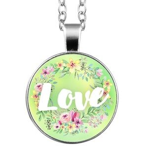 Necklace- NEW- Christian - LOVE